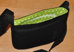 Handtasche Buntklee mit Wechselklappe