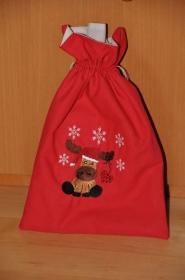 Weihnachtliches Geschenksäckchen - groß - Handarbeit kaufen