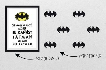 Wandsticker / Wandtatoo fürs Kinderzimer HERO II