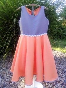 RiBo Kinderkleid Leni Einschulungskleid festlich apricoat silbergrau kaufen (Kopie id: 100038465)