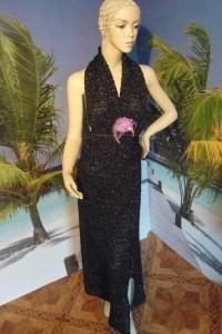 Rendevouz - Sexy langes zweiteiliges Kleid - Handgehäkelt