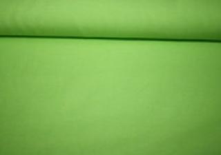 Baumwoll-Jersey Uni lindgrün Kombistoff