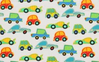 Baumwolle Stoff Junge Autos, Stoff, Kinderstoff, Mädchen, Junge, Frau, Patchwork