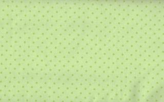 Baumwolle Stoff Mädchen Pünktchen hellgrün, Stoff, Kinderstoff, Mädchen, Junge, Frau, Patchwork