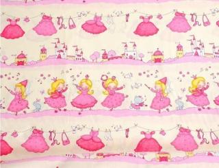 Baumwolle Stoff prinzessin, Stoff, Kinderstoff, Mädchen, Junge, Frau, Patchwork