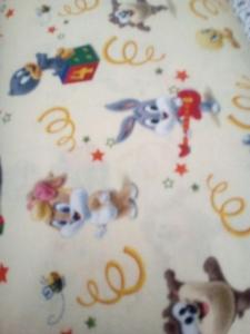 Baumwoll-Jersey Looney Tunes, Stoff, Mädchen, Junge, Frau, Baby, Kinderstoff