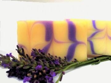handgemachte Seife Lavendel