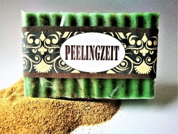 Peelingseife Green Tea