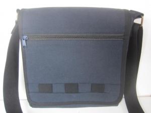* GEORGE* **NEU  im Sortiment** Umhängetasche für Männer aus dunkelblauem Canvas mit zwei Außentaschen