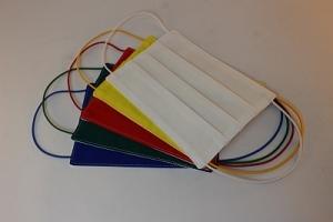 Behelfs- Mundschutz, Alltagsmaske waschbar, Multifunktions-Mund-Nasenabdeckung  / waschbar /  2 - farbig  +++ Maske 001 +++ - Handarbeit kaufen