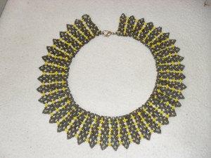 Breite Halskette/ Collier