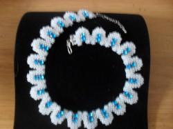 Perlenkette mit Strasssteine
