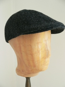 Schirmmütze, Schnabelmütze aus Original Harris Tweed, Mütze für Männer, auch innen besonders schön mit einem Baumwollfutter.
