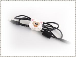 Kabelhalter, Kabelbinder, Cliphalter, Kabelbinder aus Kunstleder - Handarbeit kaufen
