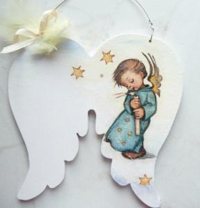 Türschild Taufe..gesucht Wunschname Baby Engelsflügel