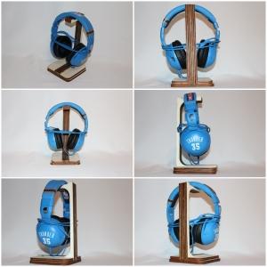 Kopfhörerständer, Kopfhörerhalter aus Holz Gelasert - Handarbeit kaufen