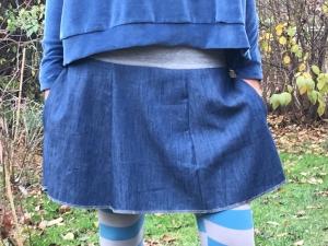 Froeken Frida Jeans-Rock Einheitsgröße S-L