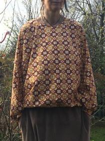 Froeken Frida Fledermausshirt Tilli,  Jersey, Einheitsgröße S-L