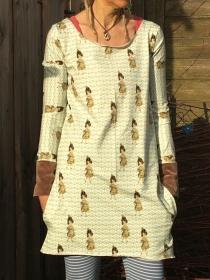 Froeken Frida Kleid Käthe Jersey Einheitsgröße XS-M