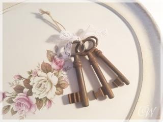 Schlüsselbund alte rostige Schlüssel