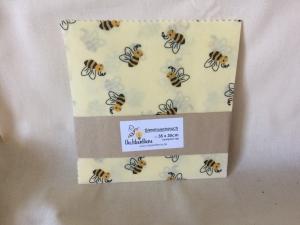 Bienenwachstuch Bienen 100% Bienenwachs und Baumwolle - Handarbeit kaufen