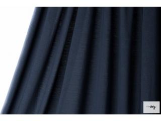 Unifarbener Modal in dunkelblau von lillestoff