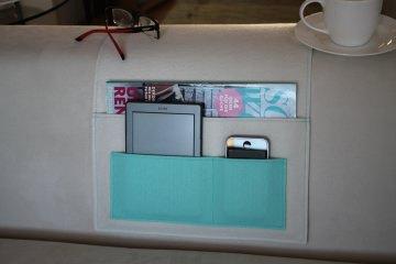 Sofa Butler, Organizer, Sofa Taschen, praktisch, ästhetisch, gut