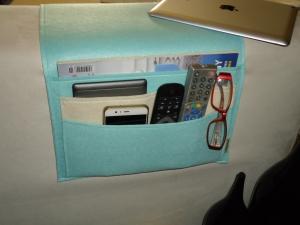 Sofa Taschen, Couch Organizer, Fernbedienungstasche,  Tablet Tasche, Handy Tasche,e-Reader Tasche,Taschen - Handarbeit kaufen