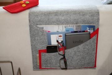 Sofa Butler, Sofa Taschen, Couch Organizer,Tablet Tasche, Handy Tasche, individualisierbar - Handarbeit kaufen
