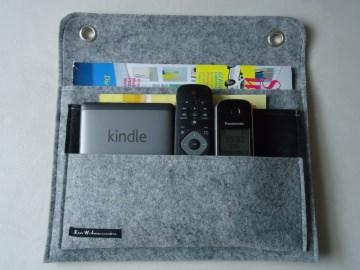 Wand Tasche, Wand Butler,Tablet Tasche,Handy Tasche,e-Reader Tasche, Filz, individualisierbar(Kopie id: 100013901) - Handarbeit kaufen