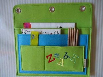 Einschulung:  Wand Tasche, Wand Butler, Tablet Tasche, Handy Tasche, individualisierbar - Handarbeit kaufen