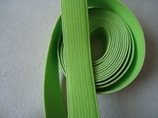 Gummiband, Limette, 15 mm breit, 2m lang, Meterpreis 0,85,nähen,basteln - Handarbeit kaufen