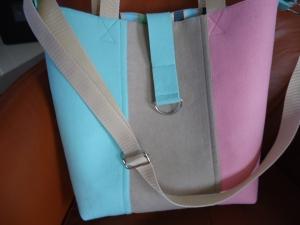 Große Shopper, Umhängetasche, Schultertasche, voll gefüttert mit Innentaschen, Tasche, filz shopper,filztasche  (Kopie id: 100176897) - Handarbeit kaufen
