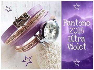 Absolutes Einzelstück - NEUE Collection - Ihr Outfit am besten zusammen kombiniert mit meinem Wickelarmband & Uhr - Echt-Ledervariante kombiniert zu einem trendigen Armband mit Uhr