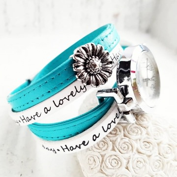 Welcome Summer - Absolutes Einzelstück - NEUE Collection - Ihr Sommer-Outfit am besten zusammen kombiniert mit meinem Wickelarmband & Uhr