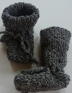 ♥Baby-Strickschuhe sie sind handgestrickt mit einer Sohllänge von 8,5 cm♡