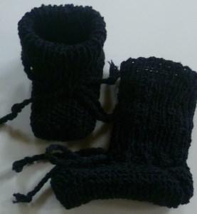 ♥Baby-Strickschuhe sie sind handgestrickt mit einer Sohllänge von 9,5 cm♡