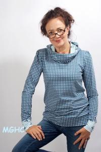 ♥︎Kapuzenshirt SUSU liebevoll von Hand genäht aus hochwertiger Baumwolle Grösse S/M/L/XL bestellen ♥︎