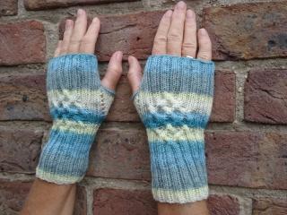 Fingerlose Handschuhe  oder Armstulpen / Pulswärmer