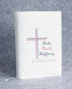 Gotteslob Hülle Kreuz Kommunion Liebe Glaube