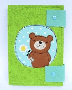 • Windeltasche Teddy Bär Doodle • Wickeltasche •