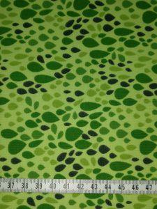 Jersey grün mit grünen Tropfen