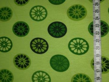 Jersey grün mit grünen Rädern
