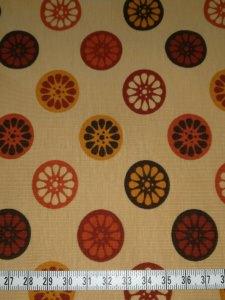 Jersey ocker mit ocker-brauntönen Räder