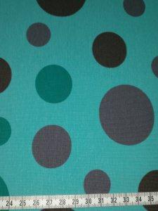 Jersey grün mit grünen und grauen Kreisen