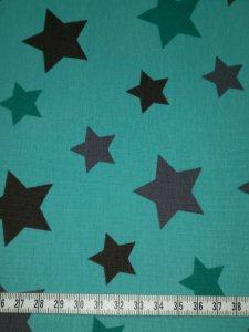 Jersey grün mit grünen und grauen Sterne