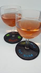 Weinglas Untersetzer to Go 2-er Set
