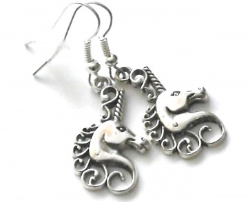 süße kleine Einhörner Ohrringe - 1 Paar Ohrhänger