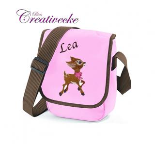 ♡_♡ Kindertasche*Kita Tasche ♡ rosa ♡ mit Namen + Wunschmotiv ♡_♡  - Handarbeit kaufen