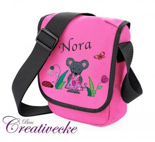 ♡_♡ Kindertasche*Kita Tasche ♡ pink ♡ mit Namen + Wunschmotiv ♡_♡